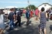 Поблизу Рокитного протестувальники перекривали міжнародну трасу