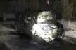 На Рівненщині підпалили іномарку (Фото)