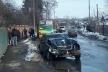 У Рівному - ДТП  за участю маршрутки (Фото)