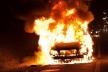 На Рівненщині згорів автомобіль