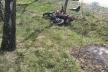 Рівненщина: мотоцикліст загинув, зіткнувшись на швидкості з деревом (Фото)
