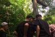 Біля села Дермань ІІ пластуни підняли повалений хрест на кургані (Фото, відео)