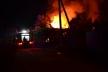 Рівненські рятувальники ліквідували пожежу у дачному кооперативі (Фото, відео)