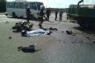 Наслідки ДТП на трасі «Київ-Чоп» ліквідовували рівненські рятувальники (Фото)