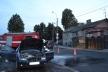 У Рівному посеред вулиці палала автівка (Фото)