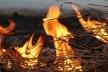 На Рівненщині у приватному господарстві горіло сіно та зерно