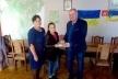 Військовослужбовці ЗСУ передали подарунок для юної художниці з Рокитнівщини