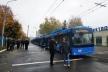 Сім нових тролейбусів вирушать на вулиці Рівного