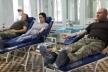 Військові ОК «Захід» здали кров для онкохворих дітей (Відео)