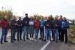 Рівненські «євробляхарі» перекриють дорогу поблизу автозаправки «Сокар»