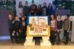 Вихованці Палацу дітей та молоді розмалювали дві сторінки мандрівної книги «Соборна Україна очима дітей»