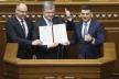 Президент підписав зміни до Конституції щодо стратегічного курсу України на набуття членства в ЄС та НАТО