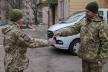 Рівненські військові правоохоронці отримали нову автомобільну техніку