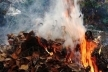 У Березному на Рівненщині чоловік вкоротив собі віку при спалюванні сміття
