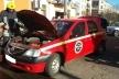 У Костополі власник автомобіля самотужки ліквідував пожежу