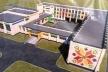 У Костополі реконструюють місцеву школу №6 у яскравому національному стилі