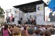 У Рівному на майдані Незалежності сьогодні виступав Петро Порошенко. З гуртом «От вінта»