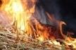 На Демидівщині згоріла солома