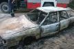 Млинівські рятувальники ліквідували пожежу в автомобілі Audi