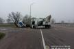 На Дубенщині сталася ДТП за участі вантажівок