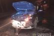 На вулиці Басівкутська у Рівному водійка протаранила дві автівки (Фото)