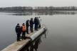 Співробітники Служби порятунку Рівненщини слідкували за безпекою громадян під час святкування Водохреща (фото)