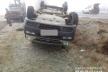 Неподалік села Антонівка на Рівненщини перекинувся мікроавтобус (фото)