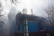 Острозькі вогнеборці погасли пожежу у будинку