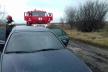 На Дубенщині вогнеборці врятували автомобіль від вогню