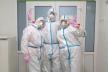 Рівненські лікарі вперше провели стентування інфарктного хворого, інфікованого COVID-19
