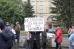Підприємці із «Ярмарку» на вулиці Шевченка продовжують пікети у Рівному (ВІДЕО)