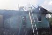 На Острожчині палав будинок
