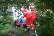 Демидівські вогнеборці визволили з вогню літню жінку