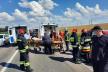Розтрощені машини, метал і скло на асфальті – поблизу Рівного ДТП (Фото)