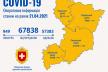 COVID-19 на Рівненщині: за 20 березня хворобу виявили у 616 громадян