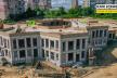 На вулиці Коновальця у Рівному триває будівництво нового дитячого садка