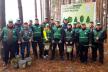 «Створимо ліси разом»: працівники Управління поліції охорони в Рівненській області садили дерева