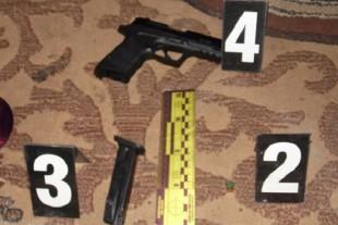 Рівненщина: молодик стріляв у правоохоронців (Фото)