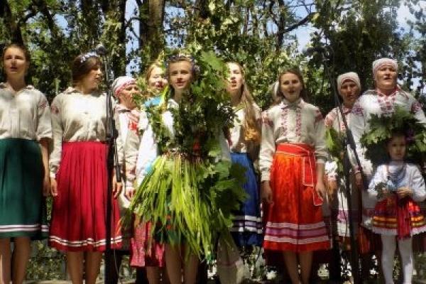 У Сварицевичах відбувся фестиваль «Водіння Куста»