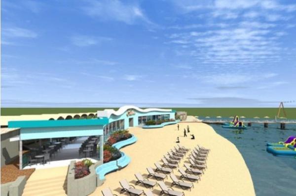 Не аквапарк. Що ж насправді будують на Басівкутському озері й хто будує?