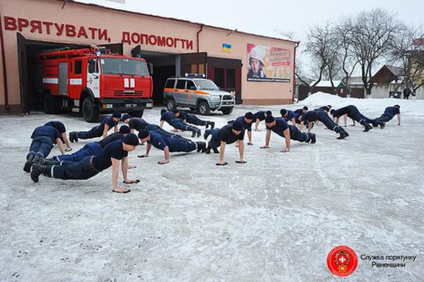 На День молоді рятувальники покажуть видовищні змагання