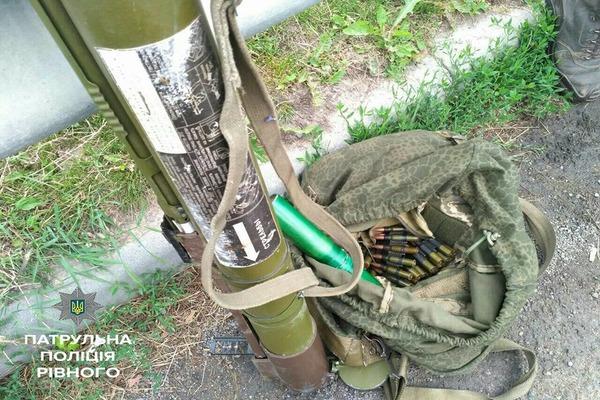 Рівненщина:  в салоні «Ауді» виявили боєприпаси (Фото)