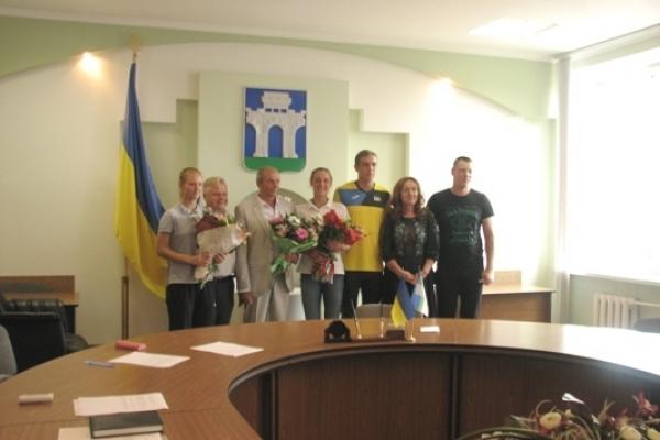 У Рівному привітали переможців юнацького Континентального Кубку з пляжного волейболу