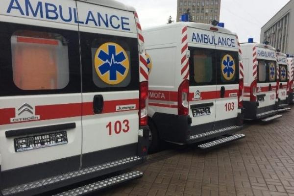 На Поліссі хворих возитимуть на французьких «швидких»
