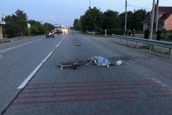 У ДТП на Рівненщині загинув велосипедист