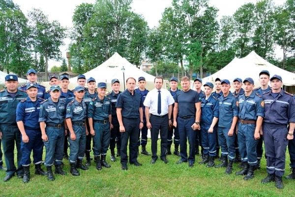 Двадцять молодих рятувальників продемонстрували свою готовність діяти в екстремальних умовах