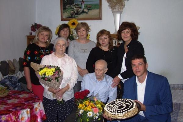 Омелян Денисюк з Великої Омеляни відсвяткував 105-й день народження