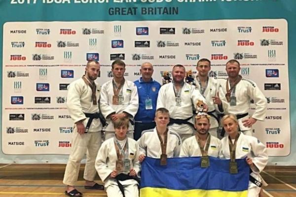 Рівненські дзюдоїсти привезли 8 нагород з чемпіонату Європи