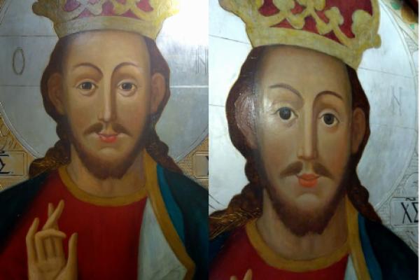 В Острозі святі на іконах стали усміхатися