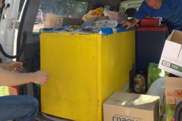 До збору допомоги в зону АТО долучилися ОТГ Млинівщини